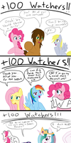 400 New Watchers by jake-heritagu