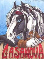 Casanova Badge by shinigamigirl
