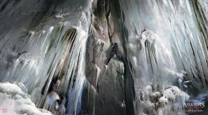 Assassin's Creed III :Liberation Frozen Waterfall by nachoyague