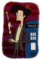 The Eleventh Doctor by edgar1975