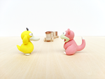 Psyduck and Slowpoke~ by lyrese