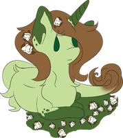 Pone Cotton Flora by WaterLillyHearts