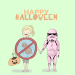 halloween doodle by magicalzebra