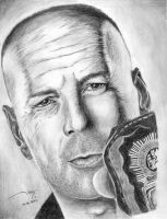 Bruce Willis by Ritta1993