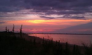 ocean view, Norfolk sunset by DMVCustomDesign