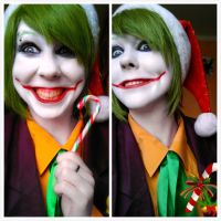 Christmas Joker by Imitaga