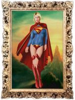 Patchwork Supergirl by bolloboy