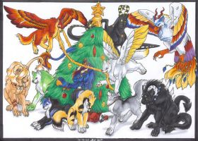 Christmas present for DA by The-Wolf-Within