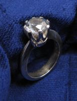 Crown-set zirconia ring by timjo