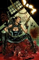Jennifer blood cover Color Adriano Augusto by adrianocastro
