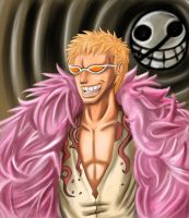 Donquixote Doflamingo by whitetom