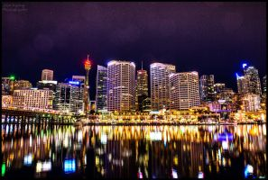 Darling Harbour Sydney by Kalmatron