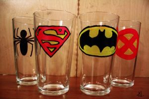 Superhero Glasses by Chinquary