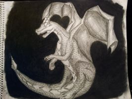 Finished Dragon by dgcdvaras