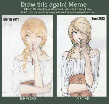 Delilah - Before and after by Nekarim