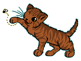 ThunderClan - Hollykit by WildpathOfShadowClan