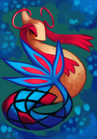 Milotic {P} by LegendWaker