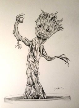 I AM baby GROOT! by DNavasak