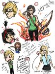 Hunger Games Doodles XD by CandyAMac