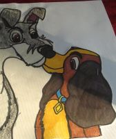 lady and the tramp by mydogbridget