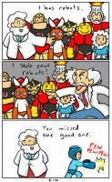 Sparknotes- Megaman by TinSil