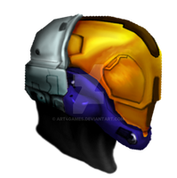 Halo 3: EVA Helmet by Art4Games