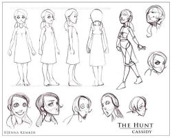 Cassidy model sheet by angerkitty