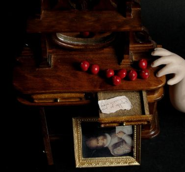 Layers of Fear in Miniature by fairchildart