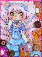 ACEO 18 - doughnuts time ! by Solceress