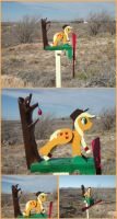 Applebucking Applejack Whirligig for XmasGiveaway by xofox