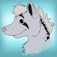 Silver Yena by Behrooze