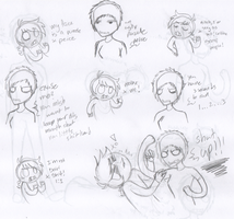 Fun times with Dib and Munchi - Punchies Pg. 1 by RaveMunch