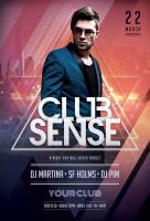 Club Sense Flyer by styleWish