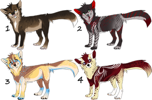 Point Adoptables Auction by LadyLirriea