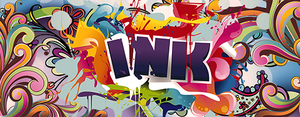 INK SPLATTER by HybridKing1