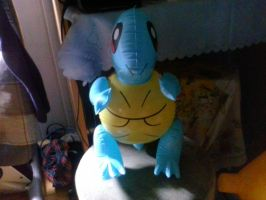 My Inflatable Blue Turtle like Squirtle 2 by PoKeMoNosterfanZG