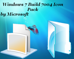 windows 7 build 7004 icon pack by XceNiK