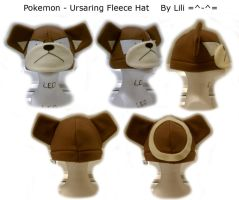 Ursaring Hat by LiliNeko