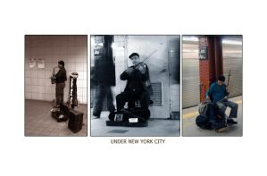 Under New York City by hh