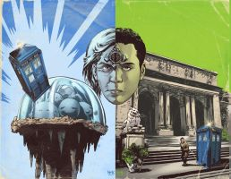 Doctor Who: Prisoners of Time #11 Variant Covers by RobertHack