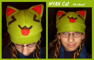 Nyah Cat Hat by Brookiethecookieface