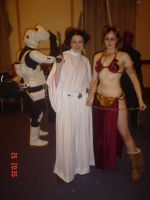 Costume - Slave Leia by quotidia