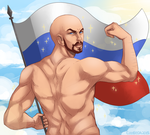Commission - Mother Russia! by Czhe