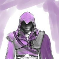 Beware Purple Ezio by BluAzure
