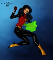 Spider-Woman - Timothy Brown colors by SpiderGuile