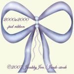 PSD Babyblue Ribbon by Junk-stock