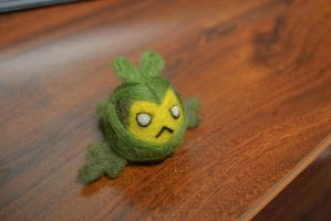 Needle Felted Swadloon by feltieflaffy