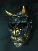 samurai latex mask by UglyBabyEater