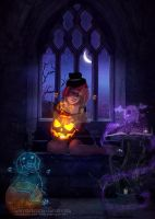 Trick or treat by VanessaPadua