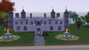 Renaissance Faire Castle - Front by PrlUnicorn